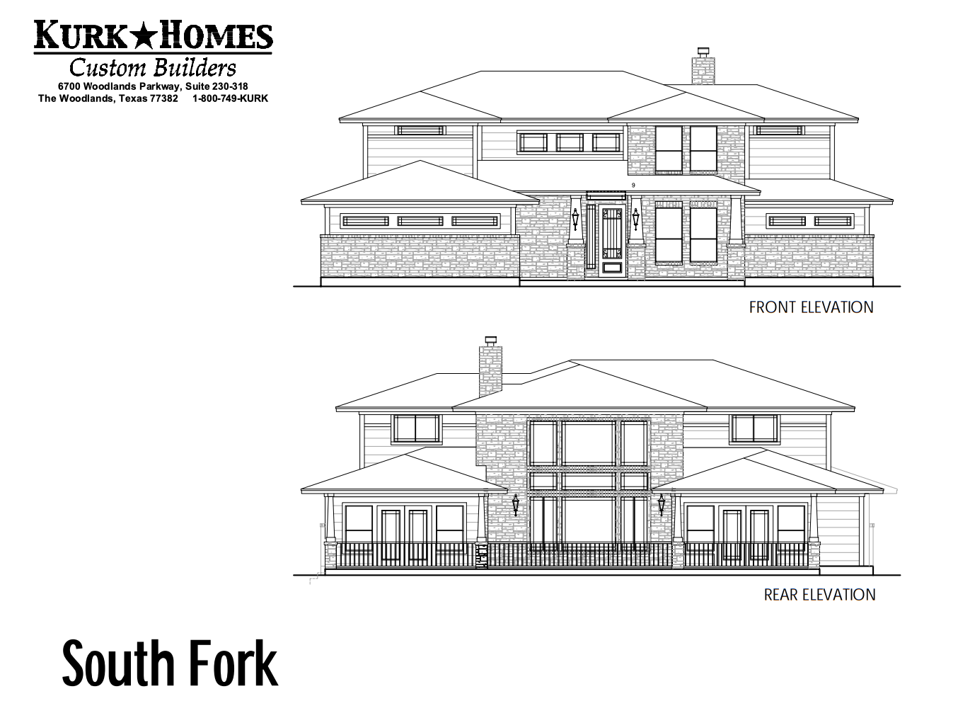 South Fork Elevation
