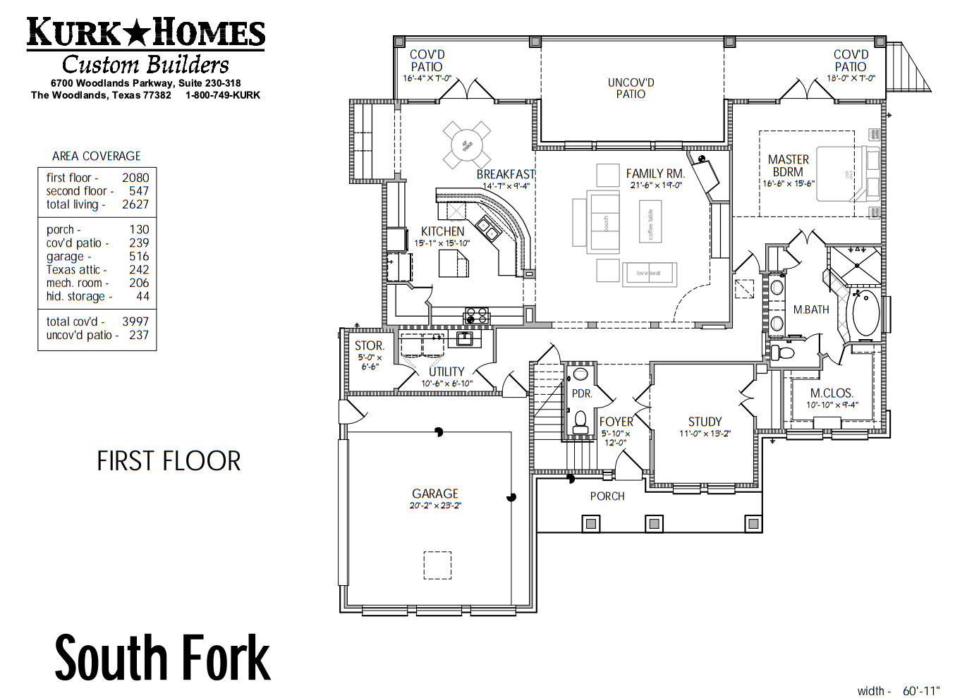 South Fork Floorplan