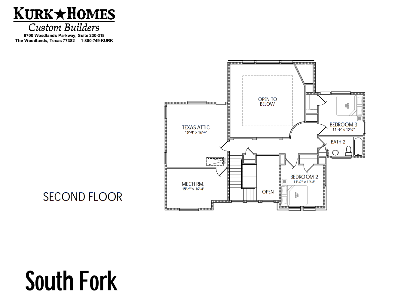 South Fork Second Floor