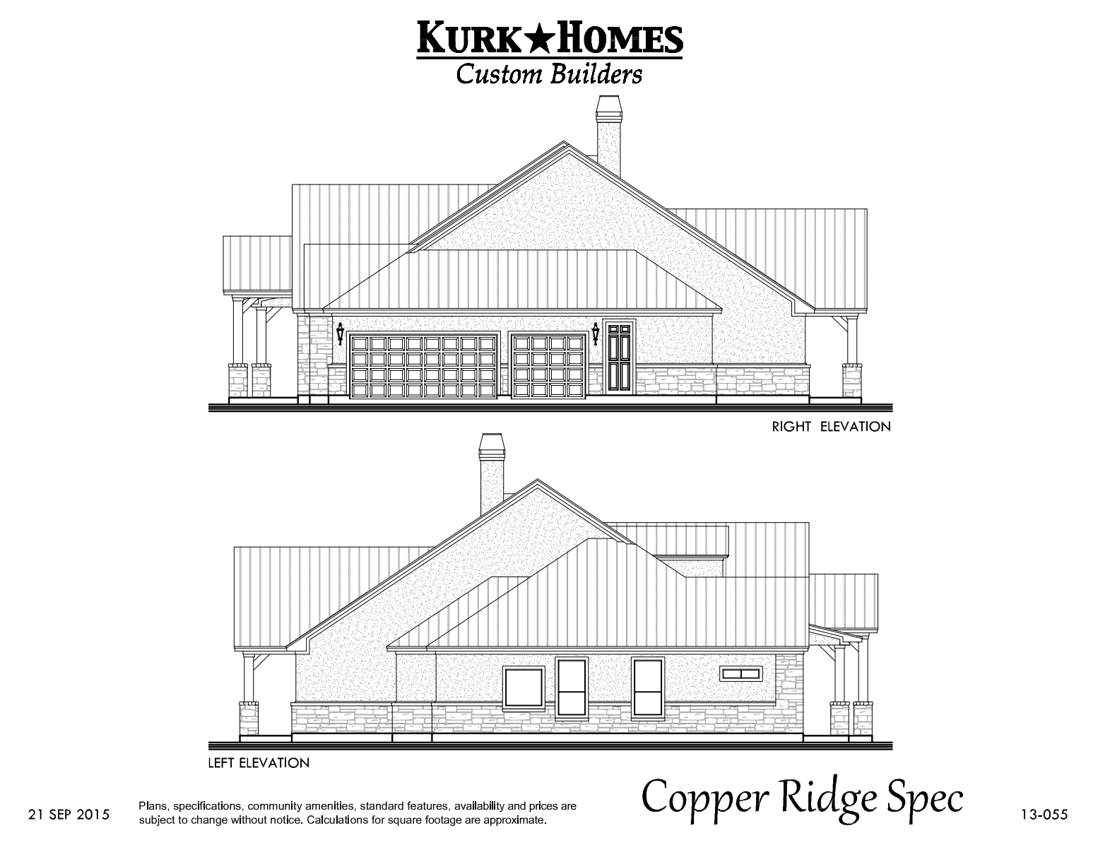 The Copper Ridge Model - Elevation