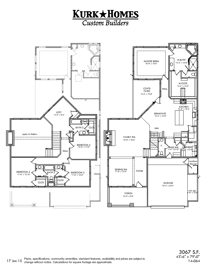 The Garden Oaks - Home Plan Design