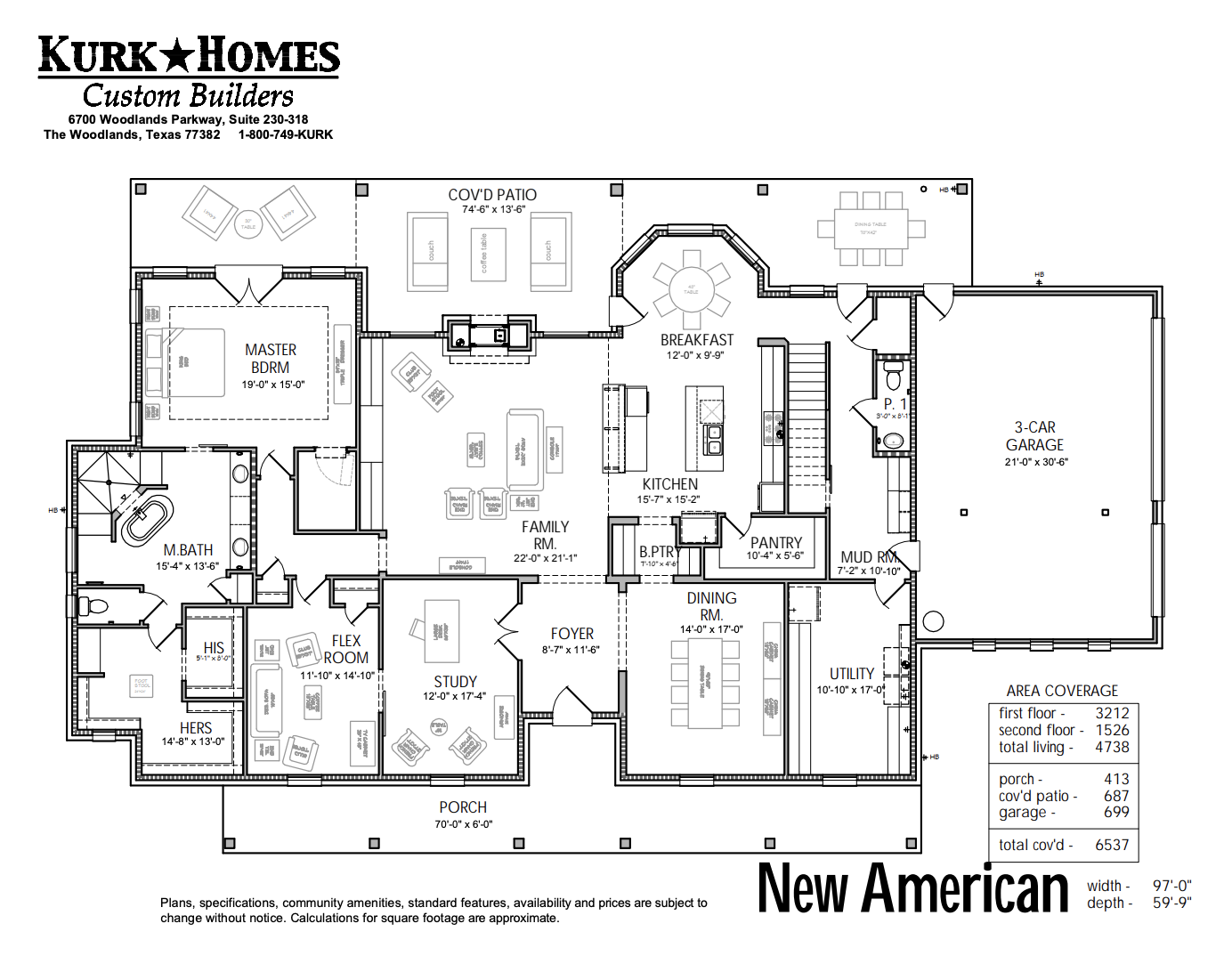 The New American - Home Plan Design